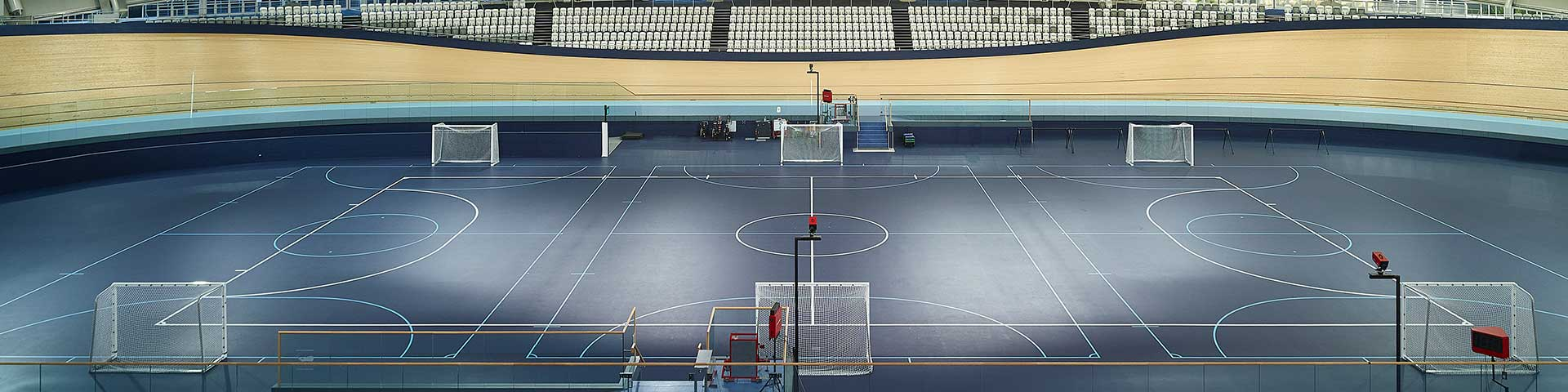 Futsal Courts at the Sleeman Sports Complex